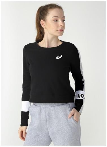 Asics Sweatshirt Siyah